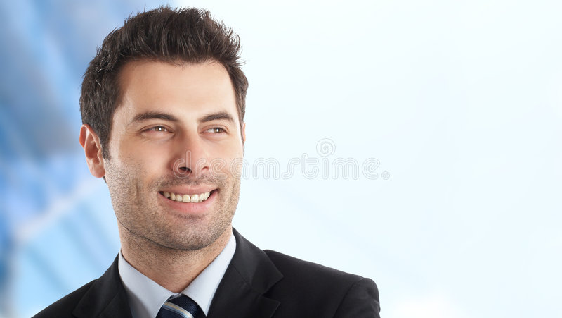 Homem de negócios considerável foto de stock