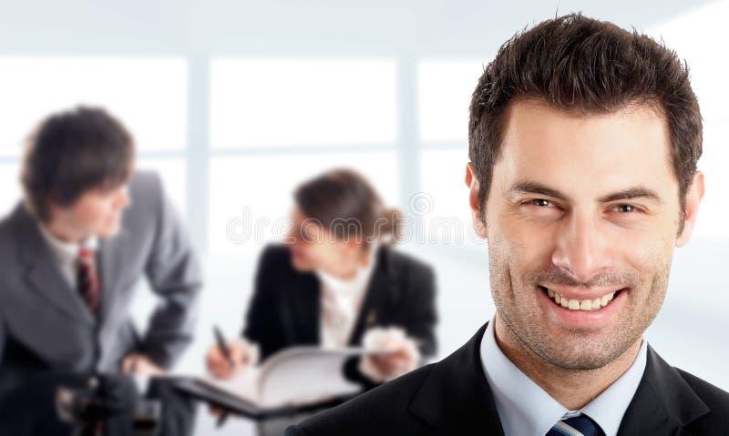 Homem de negócios considerável fotos de stock
