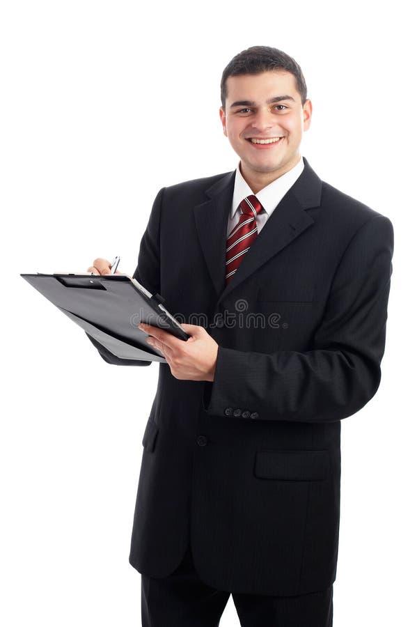 Homem de negócios considerável imagens de stock