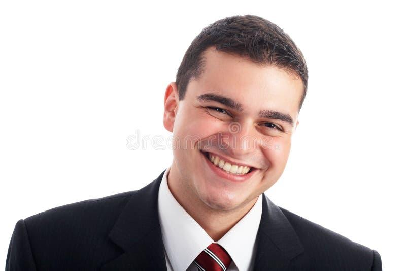Homem de negócios considerável imagens de stock royalty free