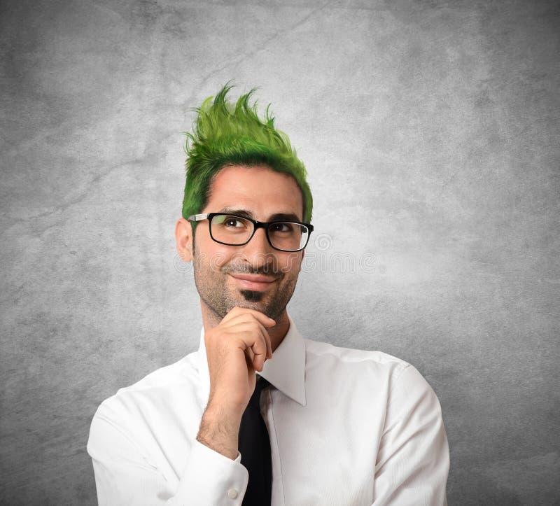 Homem de negócios criativo foto de stock royalty free
