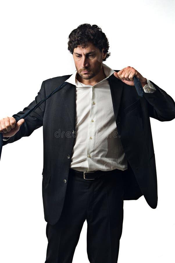 Homem de negócios da forma imagem de stock