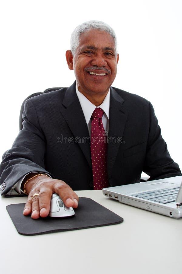 Homem de negócios da minoria fotografia de stock royalty free