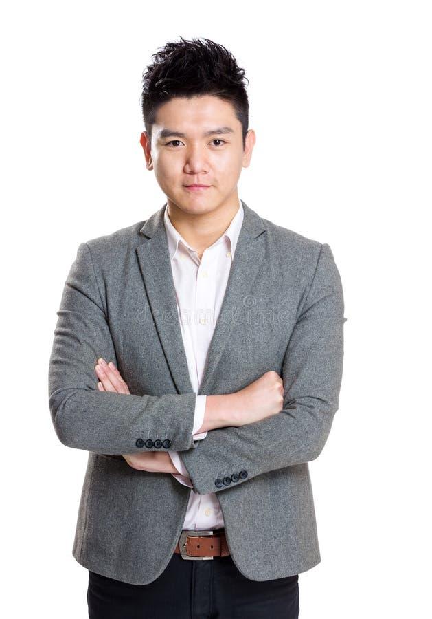 Homem de negócios de Ásia foto de stock royalty free