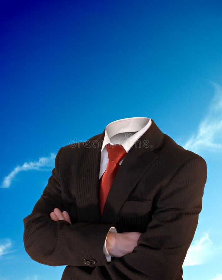 Homem de negócios decapitado fotos de stock royalty free