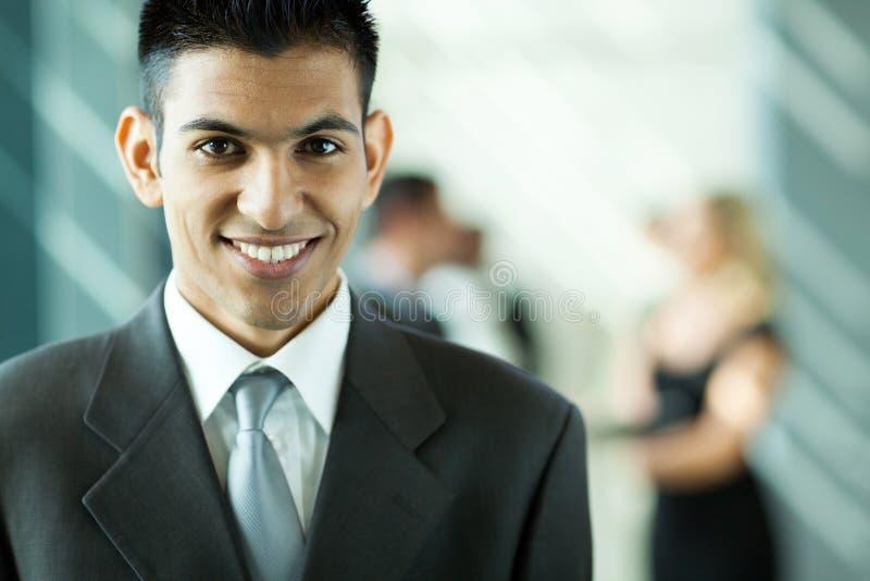 Homem de negócios do Oriente Médio imagens de stock royalty free