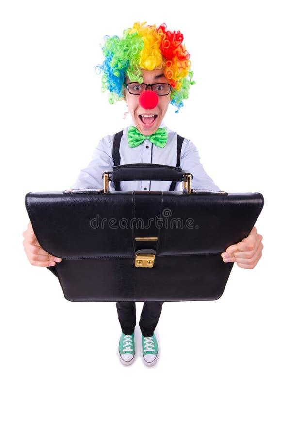 Homem De Negócios Do Palhaço Foto de Stock Royalty Free