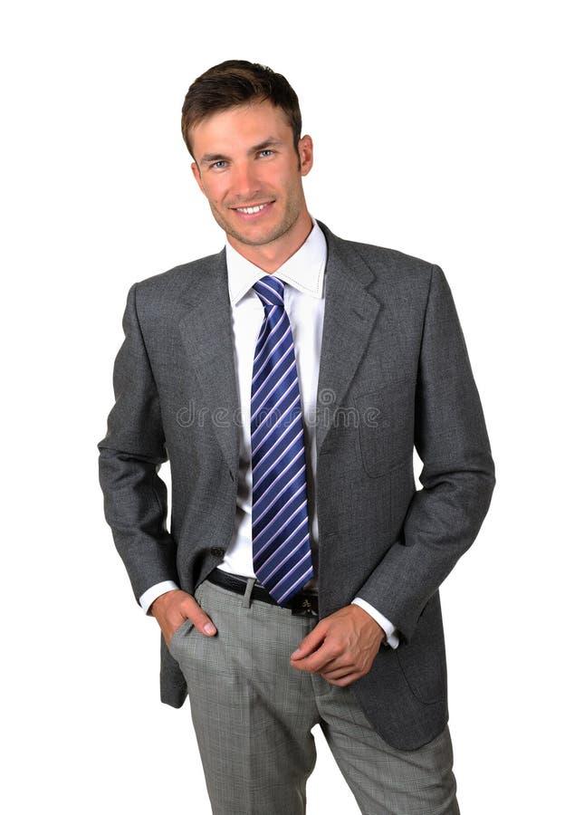 Homem de negócios do retrato fotos de stock royalty free