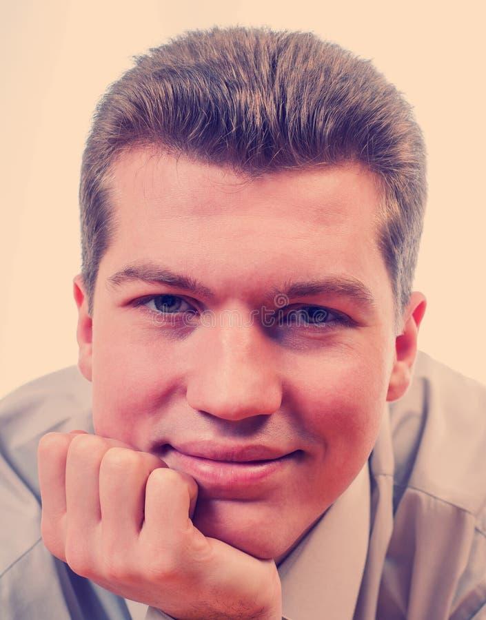 Homem de negócios do retrato imagens de stock royalty free