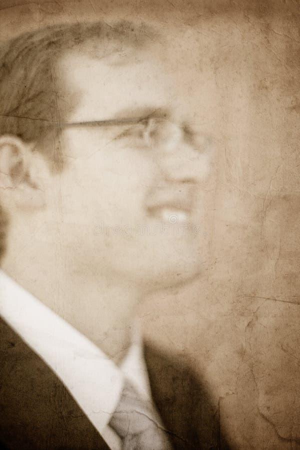 Homem de negócios do vintage fotos de stock royalty free