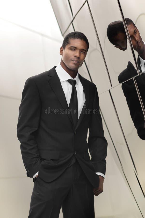 Homem de negócios elegante imagem de stock royalty free
