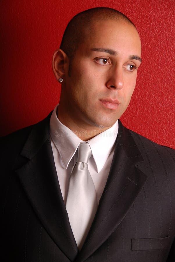 Homem de negócios elegante. foto de stock