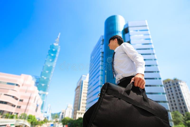 Homem de negócios em taipei fotos de stock royalty free
