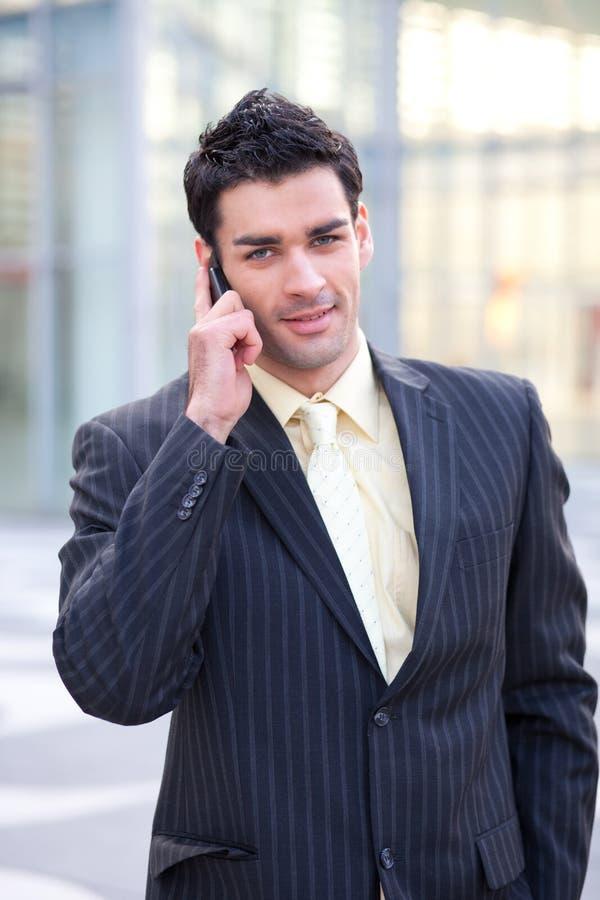 Homem de negócios europeu novo imagem de stock