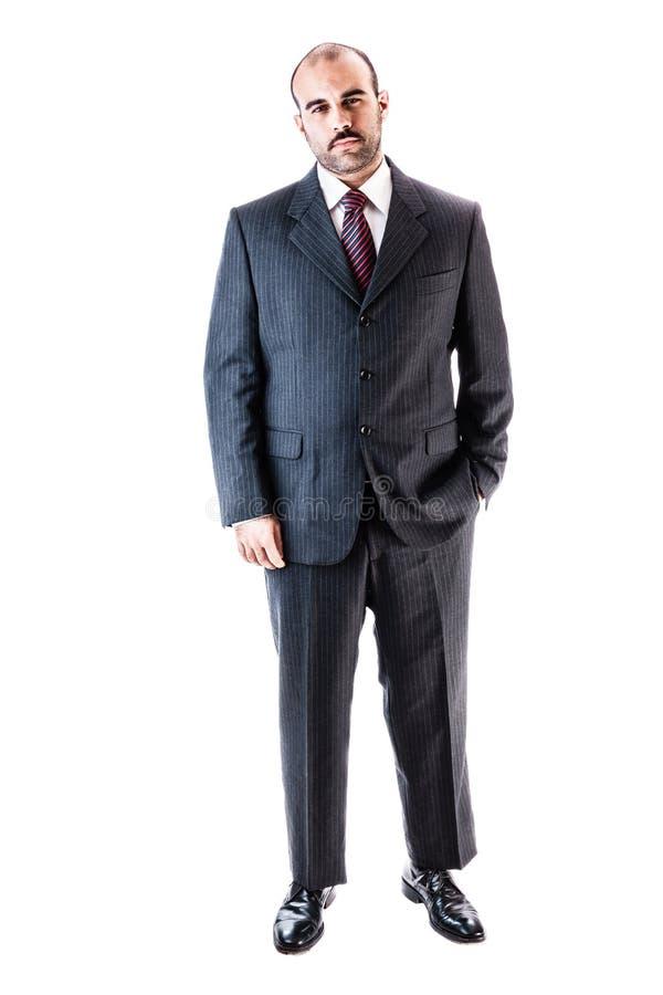 Homem de negócios grande foto de stock royalty free