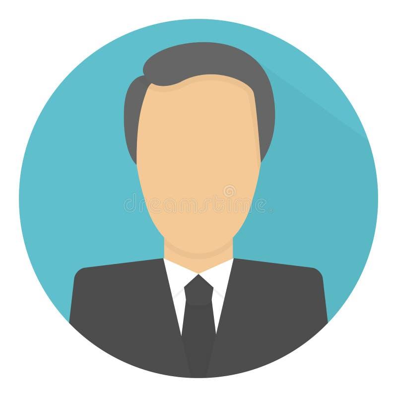 Homem de negócios Icon imagens de stock