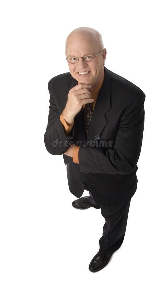 Homem de negócios maduro fotografia de stock