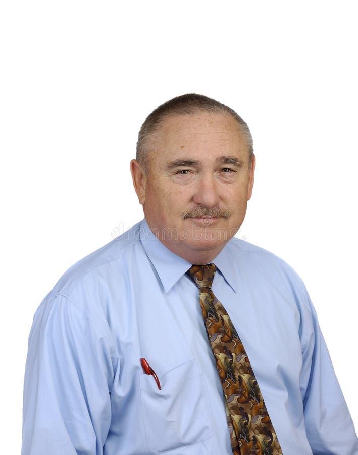Homem de negócios mais velho fotos de stock