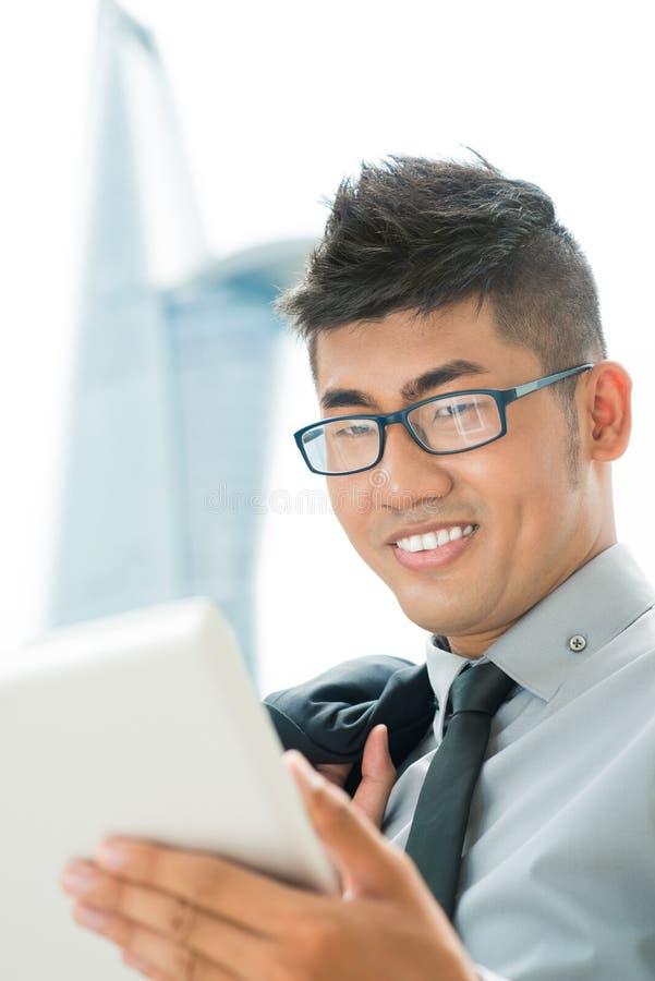 Homem de negócios moderno imagens de stock royalty free