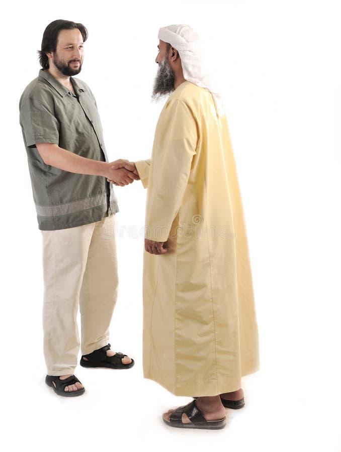 Homem de negócios muçulmano árabe imagens de stock
