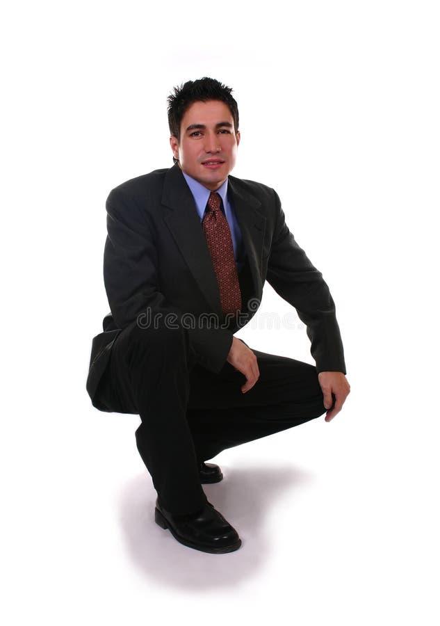 Homem de negócios na boa forma fotos de stock royalty free