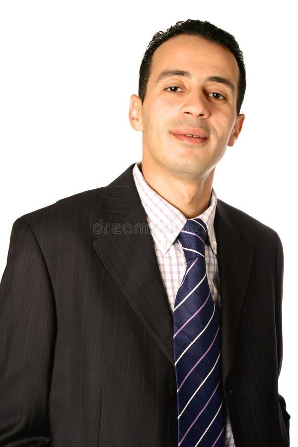 Homem de negócios no terno esperto fotos de stock