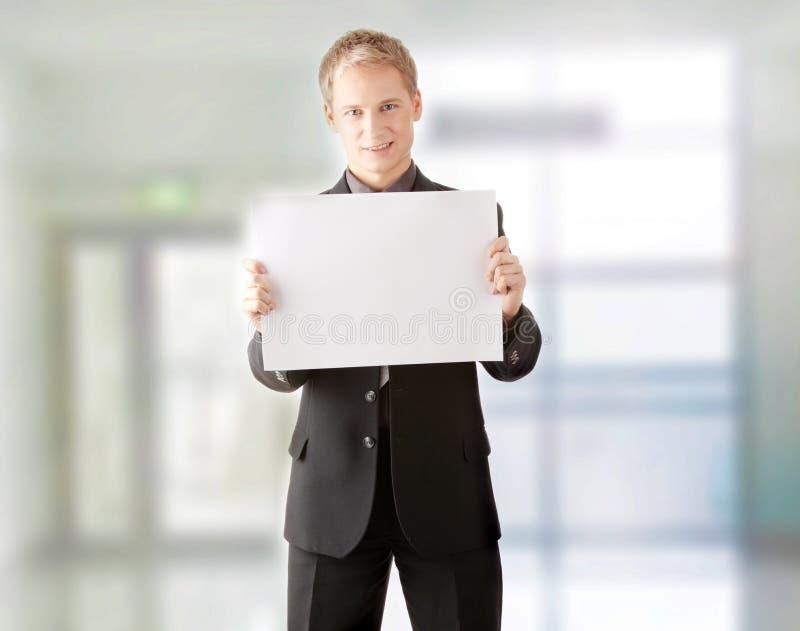Homem de negócios novo. imagem de stock royalty free