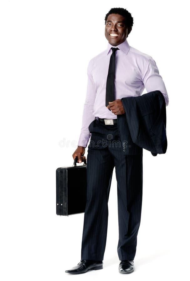 Homem de negócios novo confiável imagens de stock