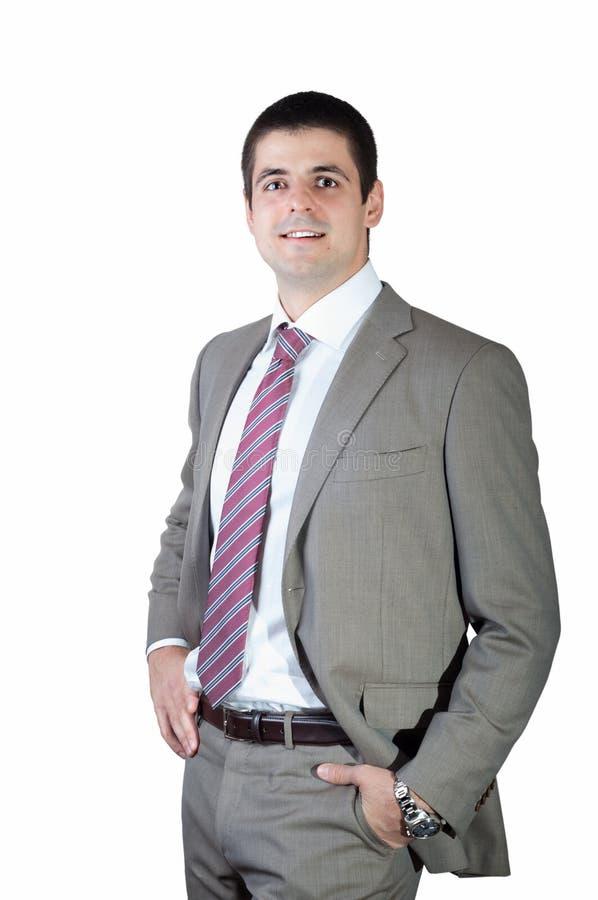Homem de negócios novo considerável fotografia de stock