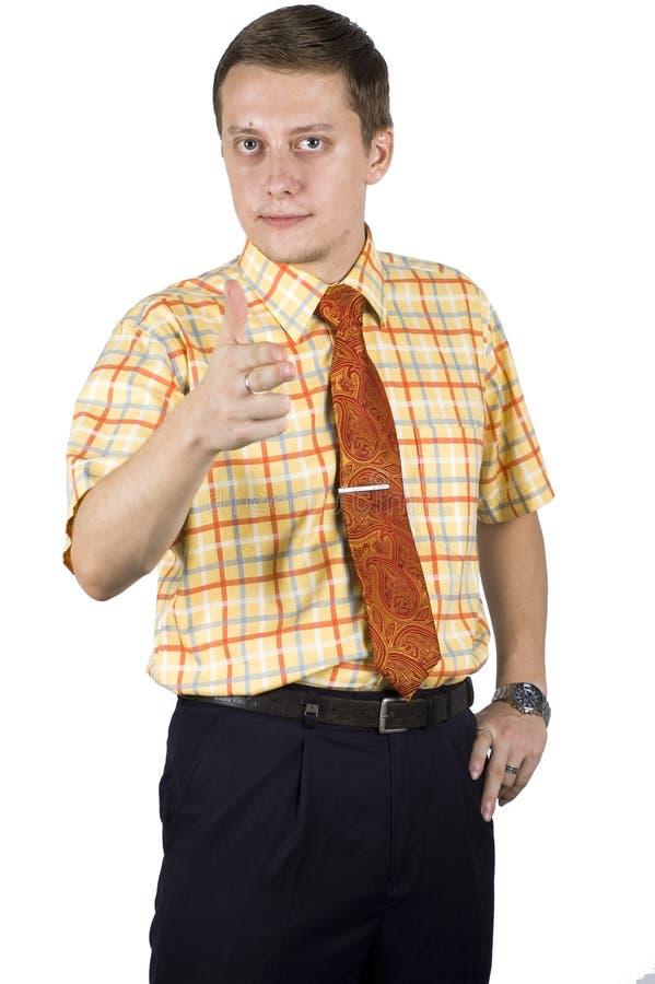 Homem de negócios novo, elegante imagens de stock