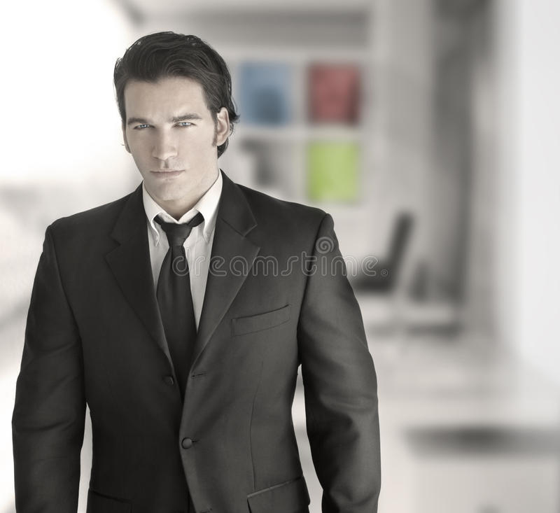 Homem de negócio bem sucedido 'sexy' fotografia de stock