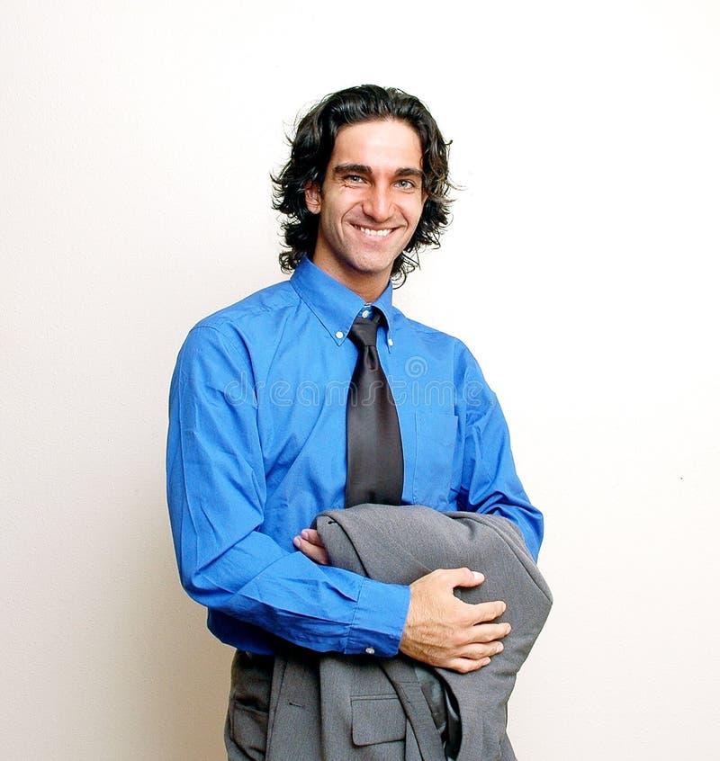 Homem de negócios ocasional imagem de stock