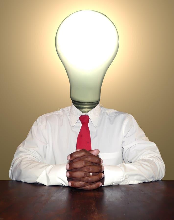 Homem de negócios - pensador foto de stock royalty free