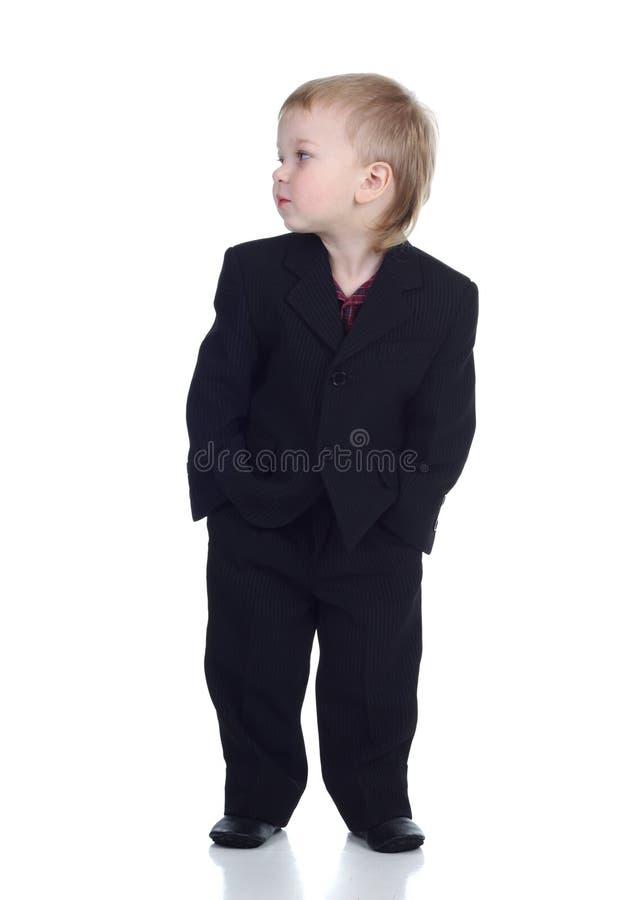 Homem de negócios pequeno imagem de stock royalty free
