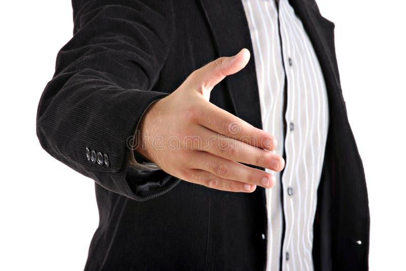 Download Homem De Negócios Que Dá A Mão Imagem de Stock - Imagem de macho, povos: 10067043