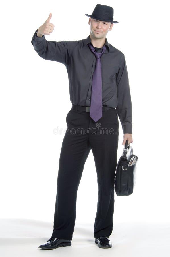 Homem de negócios que viaja fotos de stock royalty free