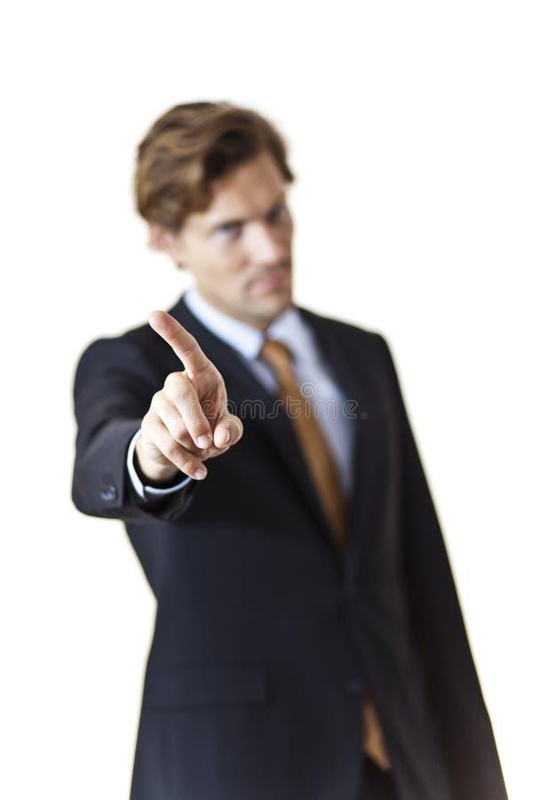 Homem de negócios restrito fotos de stock royalty free