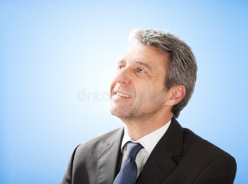 Homem de negócios sênior bem sucedido imagem de stock royalty free