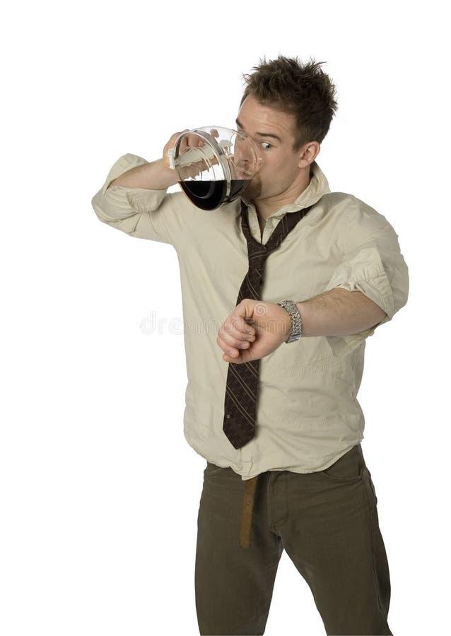 Homem de negócios Stressed-out fotos de stock