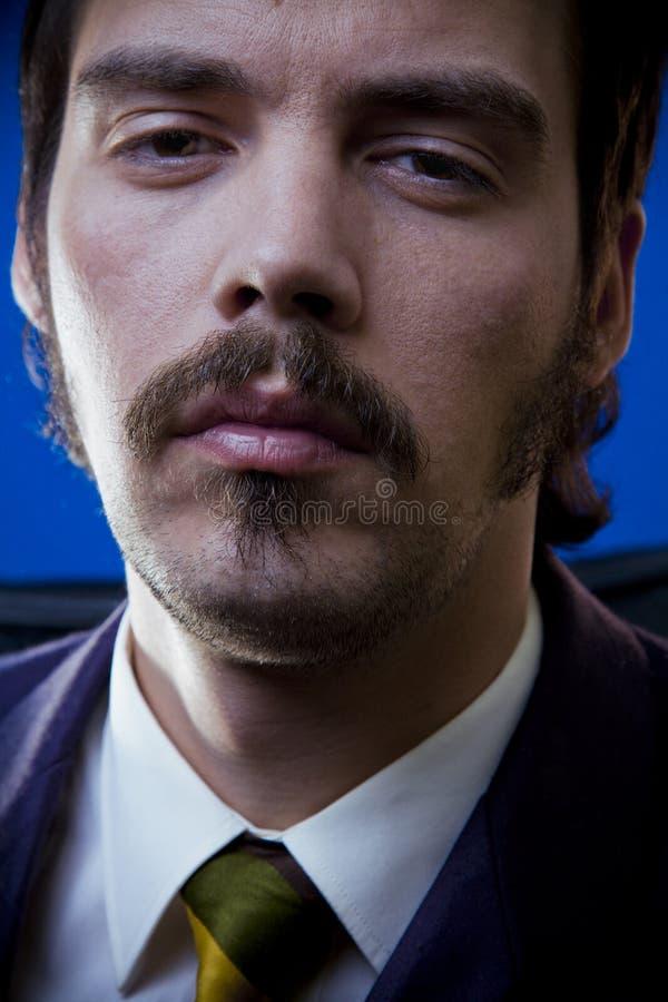 Homem de negócios Tired, mal-humorado imagem de stock