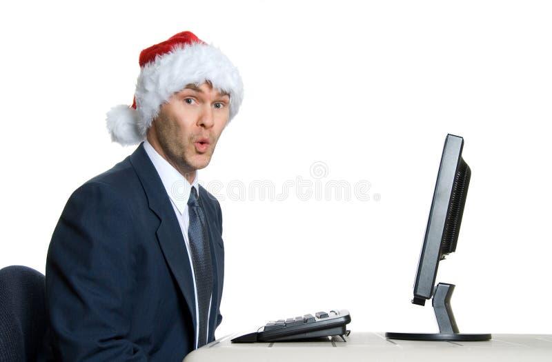Homem de Santa foto de stock
