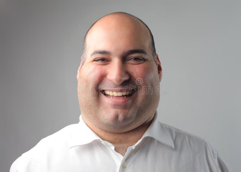 Homem de sorriso foto de stock royalty free