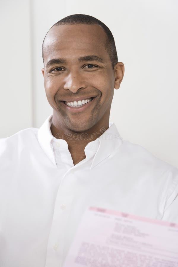 Homem de sorriso imagens de stock royalty free