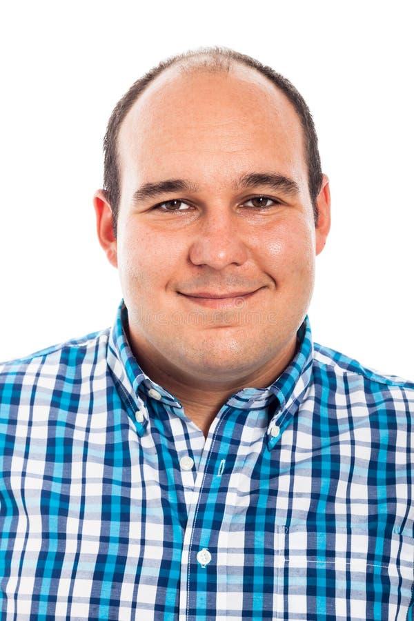 Homem de sorriso imagem de stock royalty free