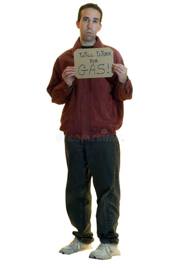 Homem desempregado foto de stock