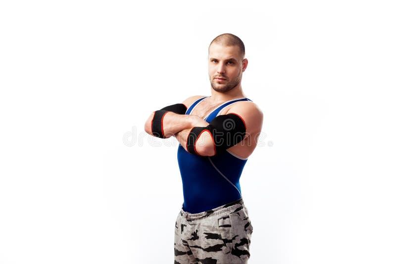 Homem desportivo novo foto de stock