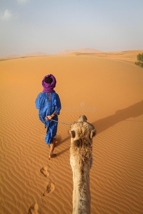 Homem do Berber fotografia de stock royalty free