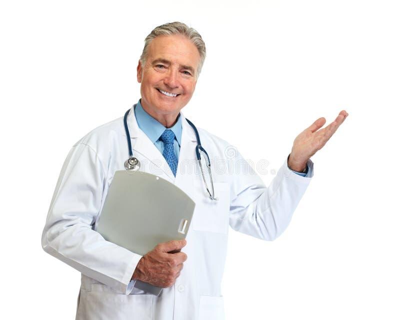 Homem do doutor fotografia de stock royalty free