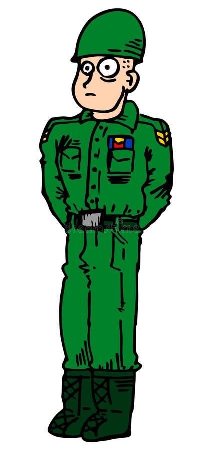 Homem Do Exército Foto de Stock Royalty Free