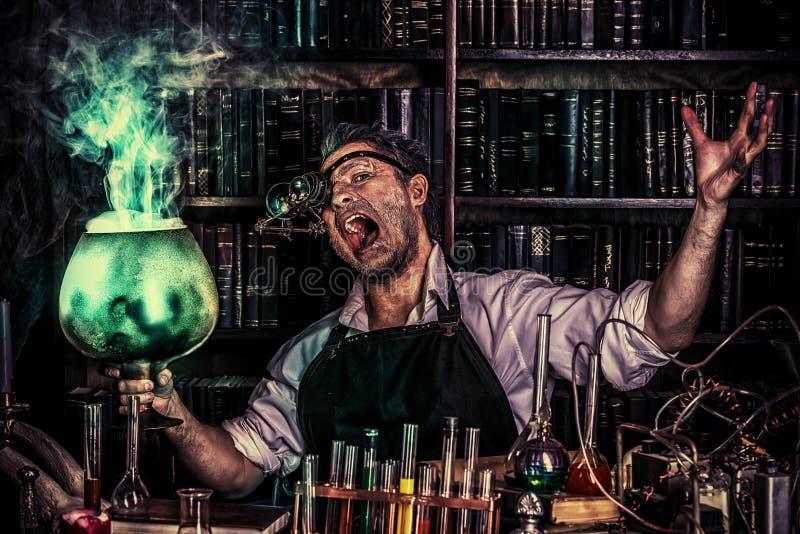 Homem do feiticeiro fotos de stock